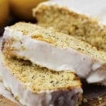 Healthy Greek Yogurt Lemon Poppyseed Pound Cake
