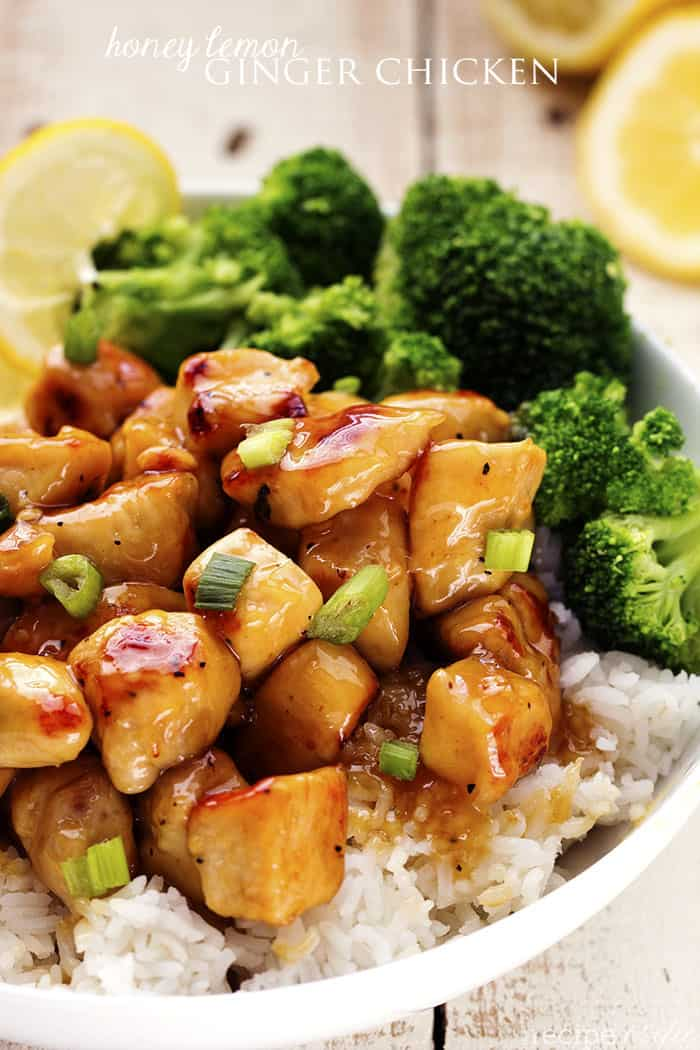 Honey lemon ginger chicken the recipe critic honeylemongingerchicken1 forumfinder Choice Image