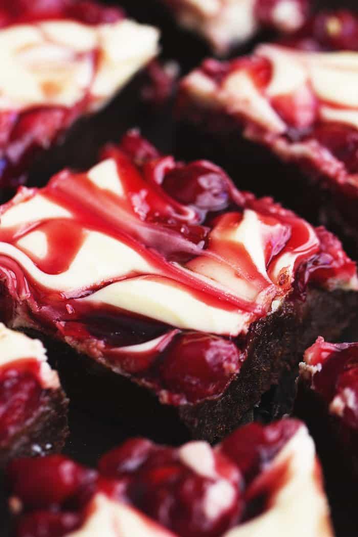 Cherry Cheesecake Brownies | The Recipe Critic