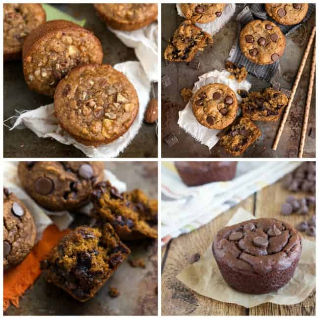 Healthy and Flourless Muffins