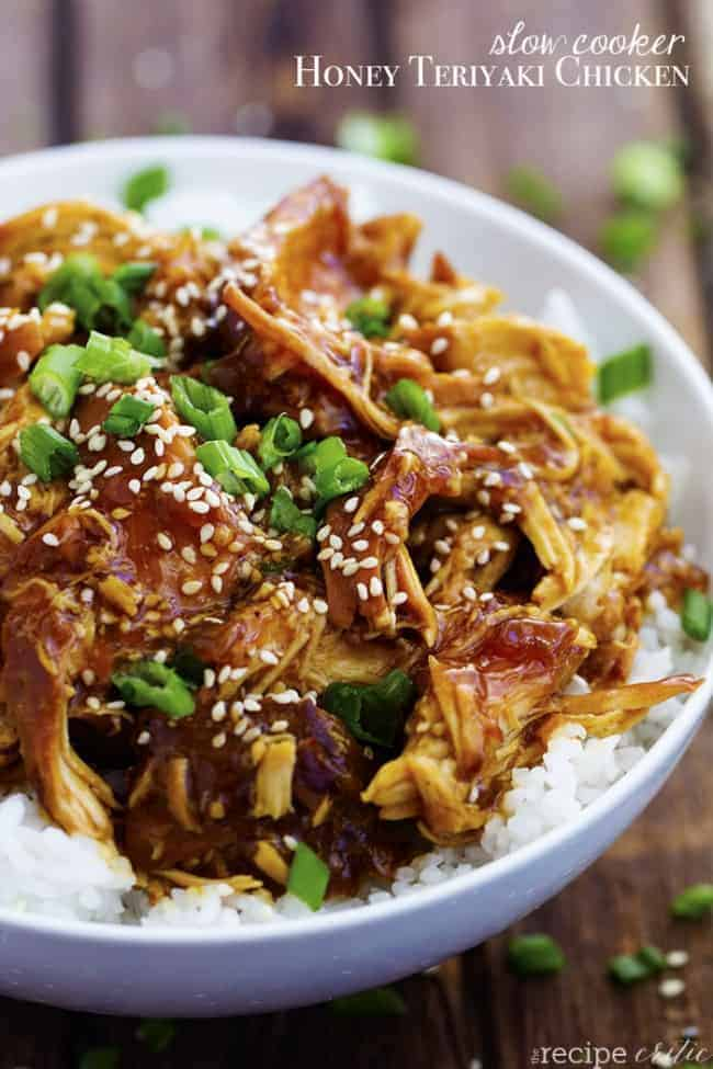 cooker and the honey teriyaki flavor is our of this world! The chicken ...