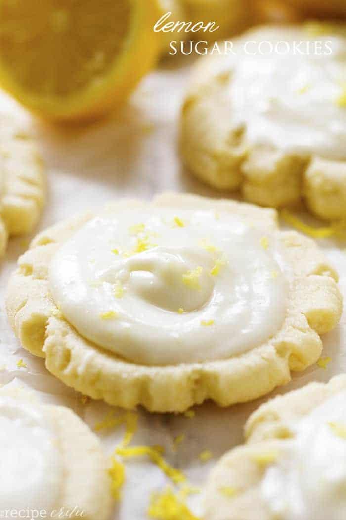 Lemon Swig Sugar Cookies With Lemon Cream Cheese