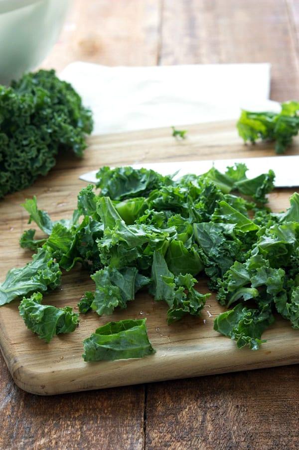 Kale lasagna rollups