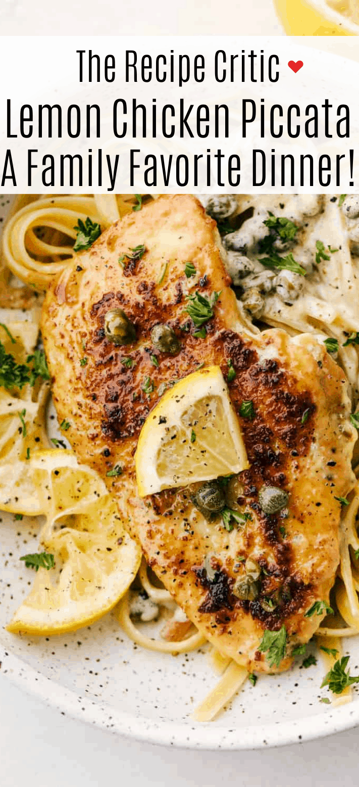 Creamy Lemon Chicken Piccata | Cook And Hook | Cook & Hook