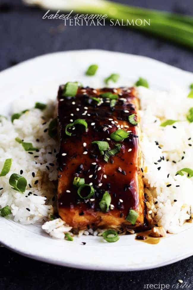 Baked Sesame Teriyaki Salmon The Recipe Critic