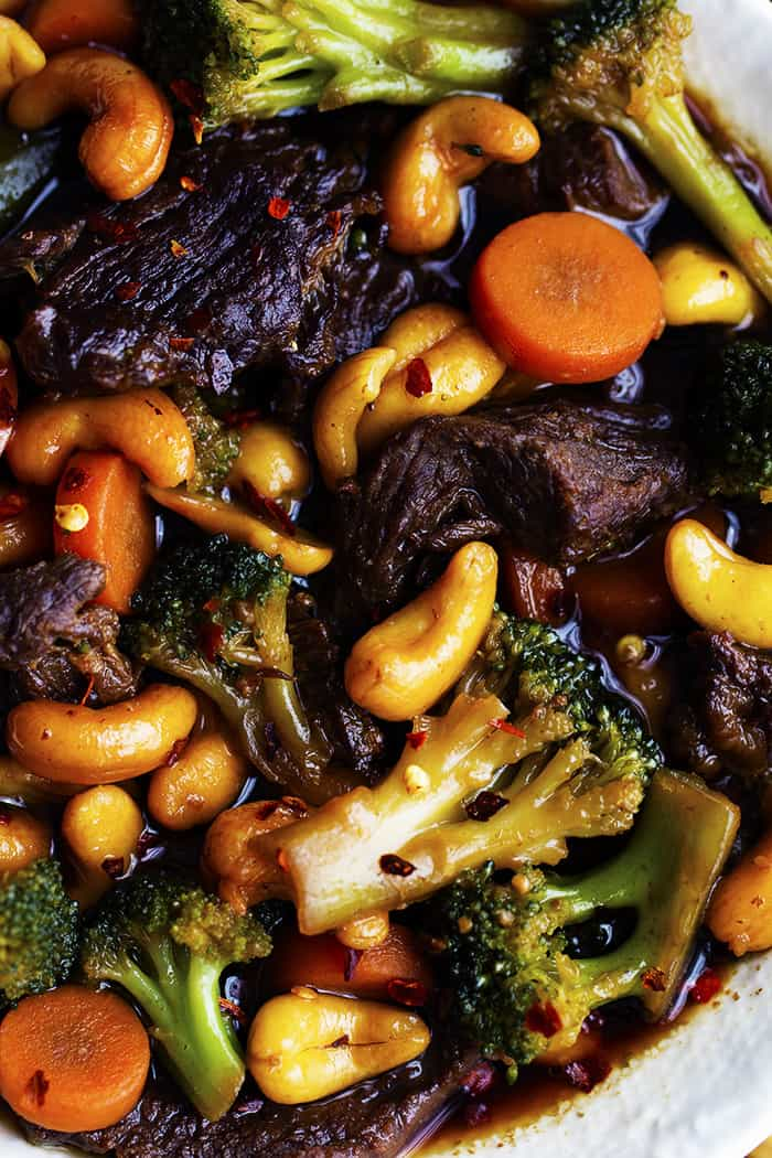 Slow Cooker Cashew Beef And Broccoli Stir Fry The Recipe
