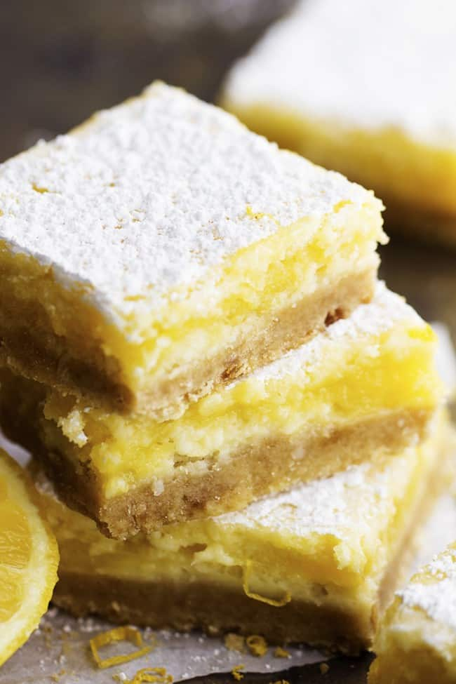 Lemon Cheesecake Bars | The Recipe Critic