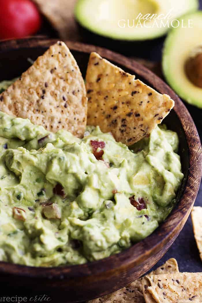 Ranch guacamole the recipe critic holy guacamole ok i totally had to say it get it ha its pretty late right now as i am writing this post so everything is seeming hilarious to me forumfinder Choice Image