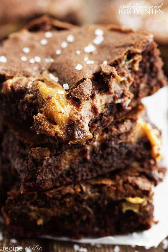 Salted Caramel Brownies | The Recipe Critic