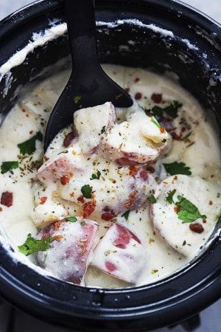 Slow Cooker Creamy Ranch Potatoes