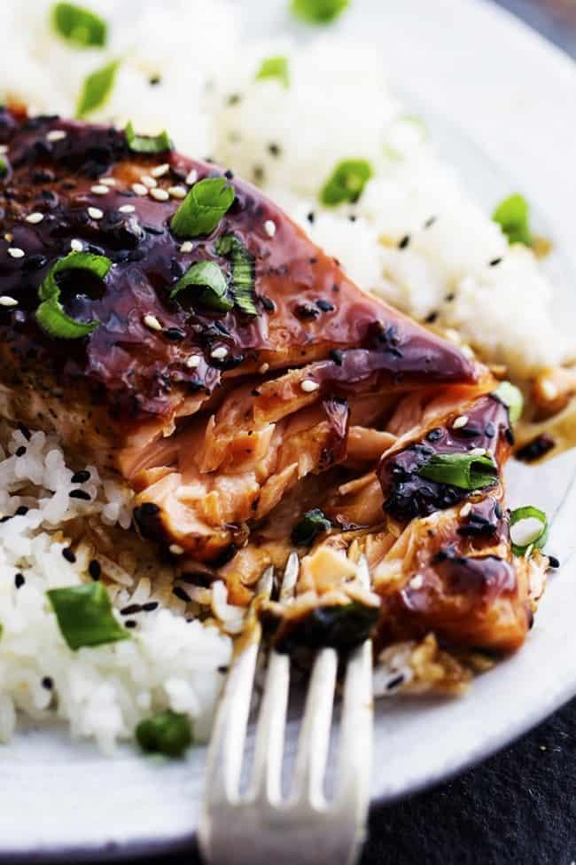 Baked Sesame Teriyaki Salmon | The Recipe Critic