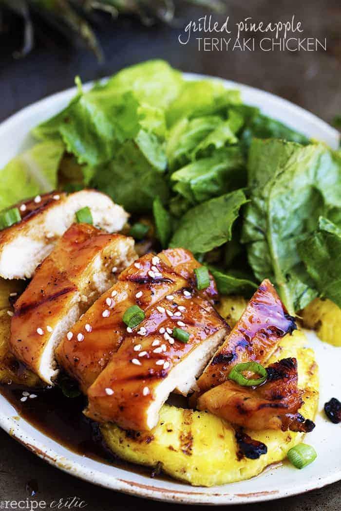 Grilled Pineapple Teriyaki Chicken   The Recipe Critic