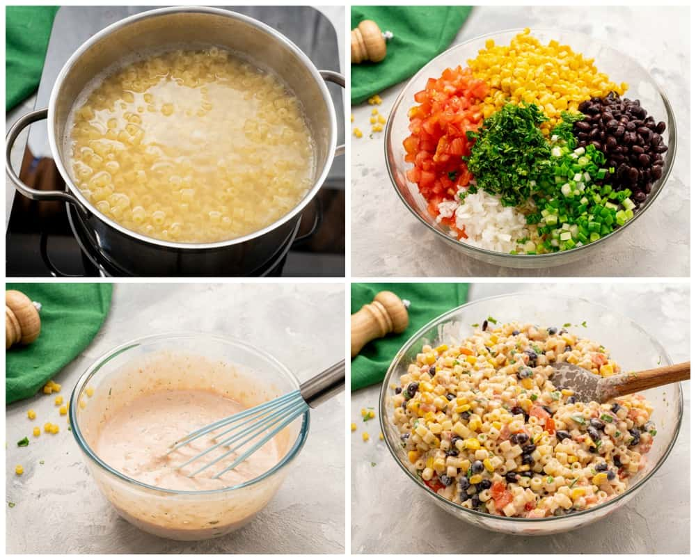 How to make Mexican pasta salad