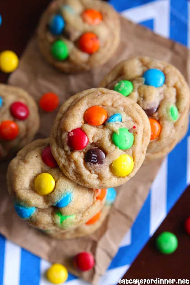 Brown Butter M&M Cookie1