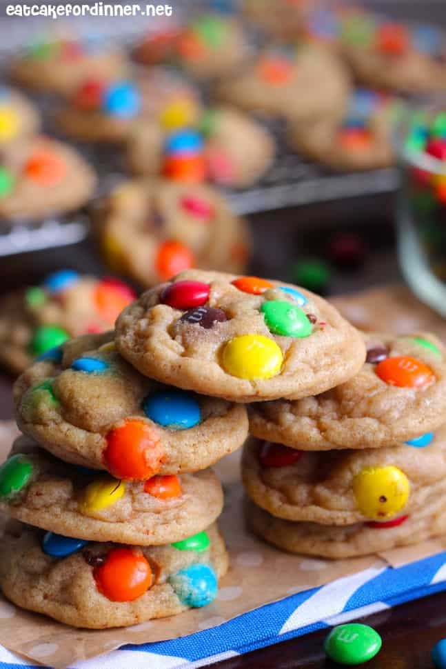 Brown Butter M&M Cookie2