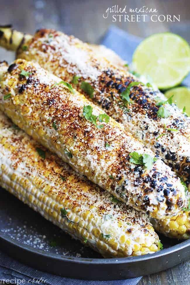 Grilled Mexican Street Corn | The Recipe Critic