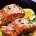 Grilled Triple Citrus Salmon