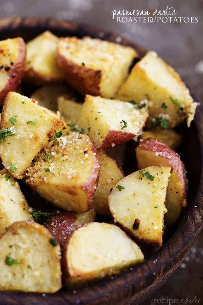 Parmesan Garlic Roasted Potatoes | The Recipe Critic