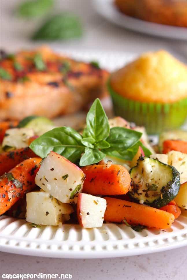 Italian Roasted Veggies