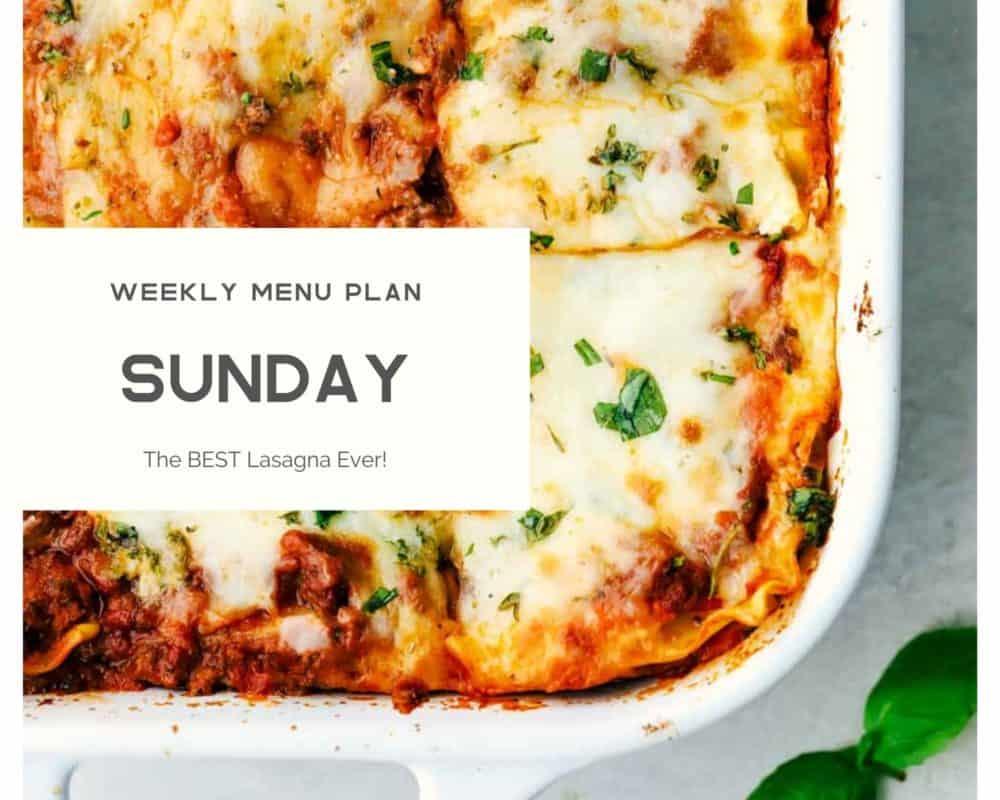 Photo de lasagne