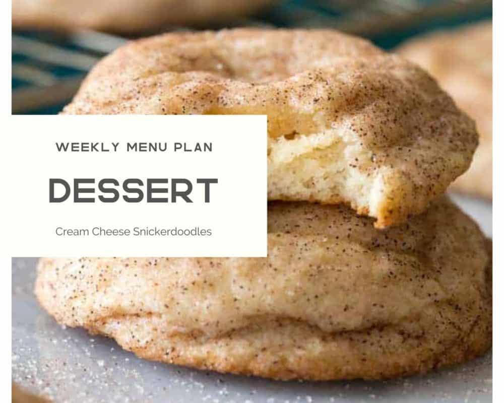 Photo de biscuits au fromage à la crème snickerdoodles