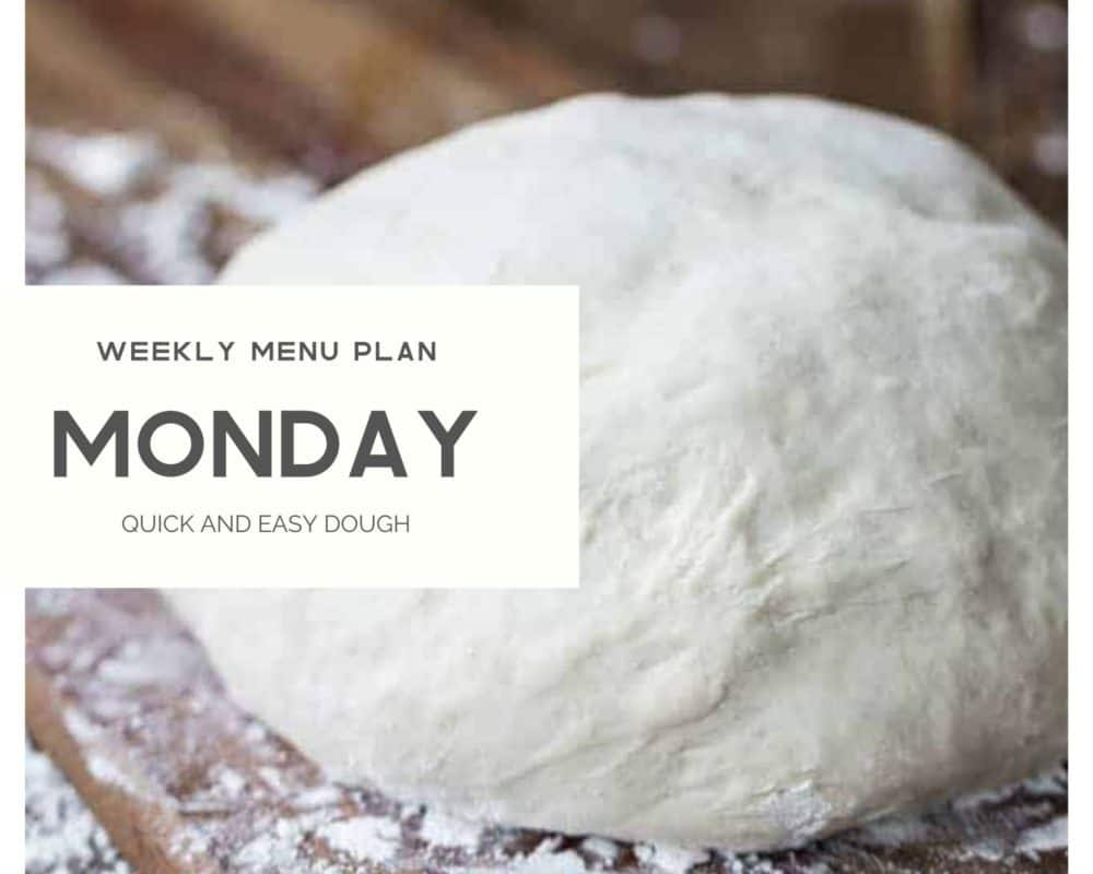 Quick and easy dough photo