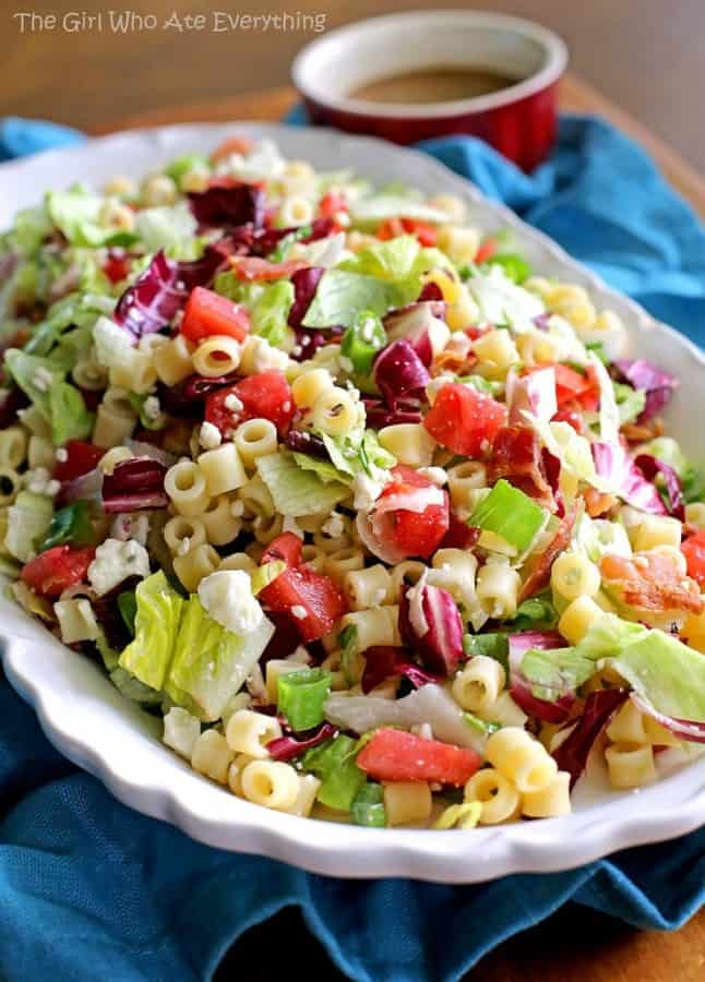 Portillos Chopped Salad | The Girl Who Ate Everything