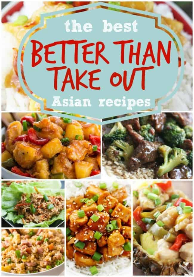 The best better than take out Asian recipes.