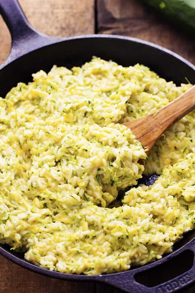 Cheesy Zucchini Rice 3