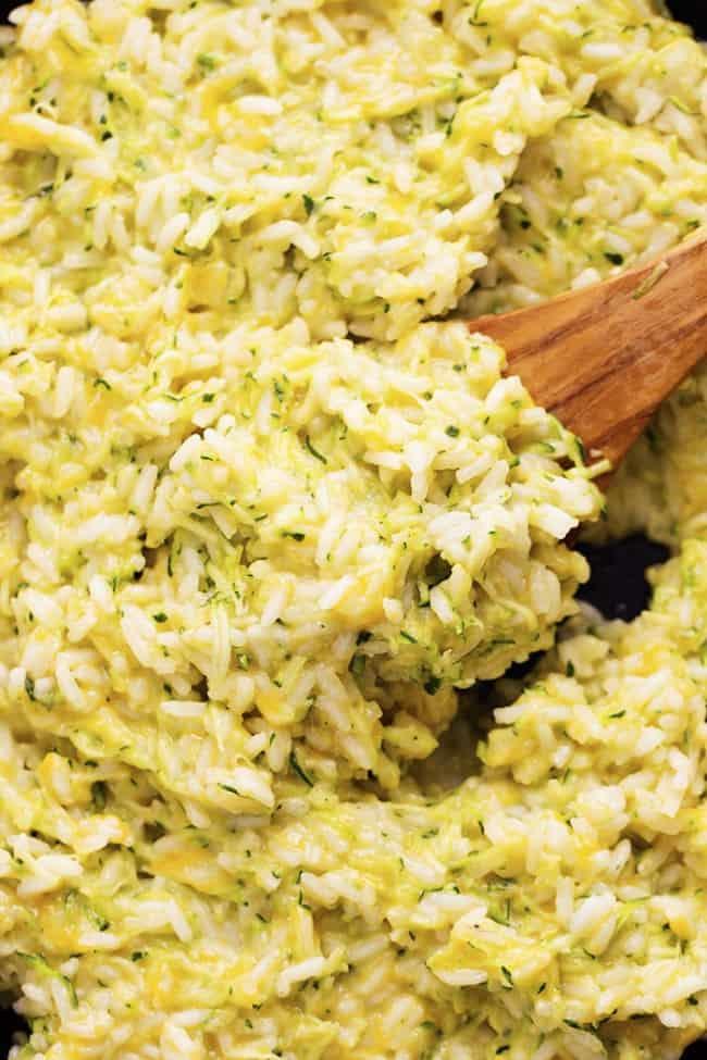 Cheesy Zucchini Rice 4
