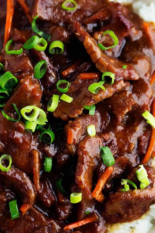 Poor Man S Gourmet Kitchen Mongolian Beef