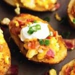 Loaded Breakfast Potato Skins