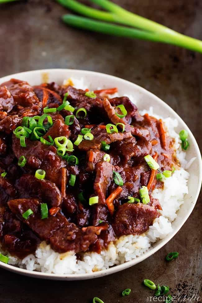 Slow Cooker Mongolian Beef The Recipe Critic