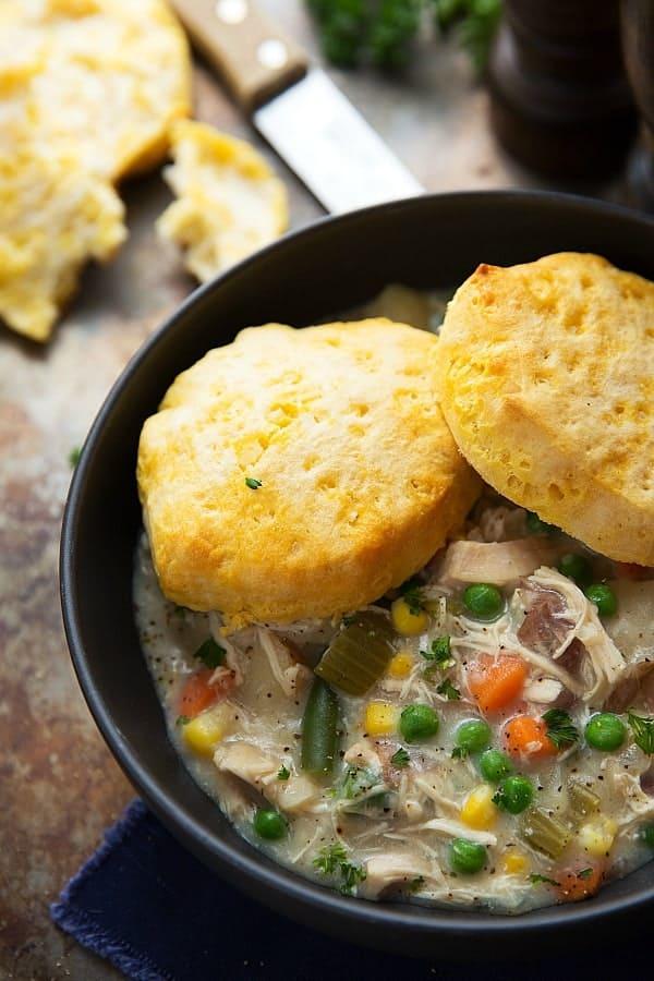 how to make pot pie soup
