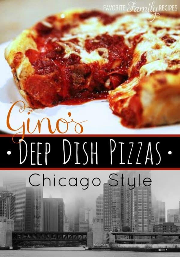 Gino Deep Dish Pizza