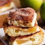 Apple Churro Cheesecake Bars