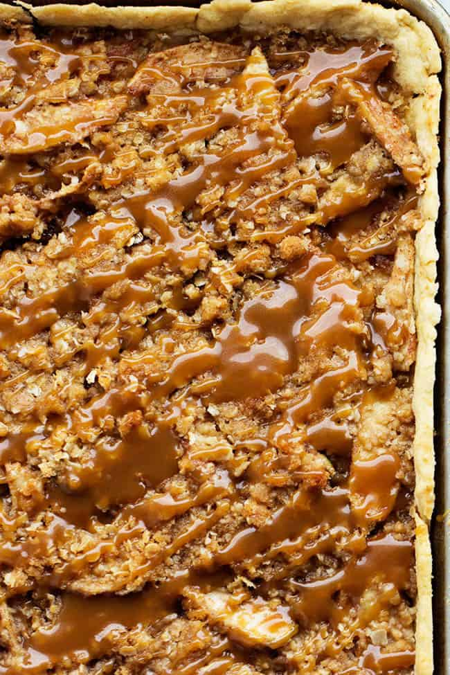 This Caramel Apple Slap pie might just be one of my favorite desserts ...