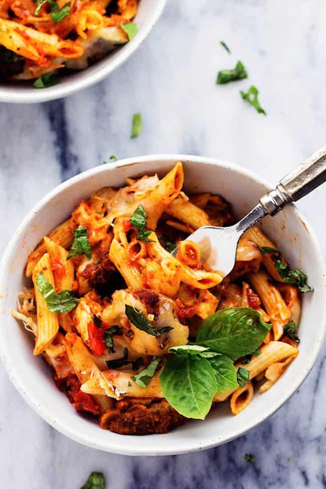 Chicken Parmesan Casserole The Recipe Critic