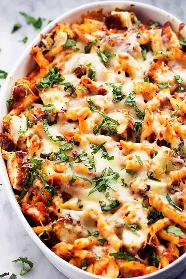 Chicken Parmesan Casserole | The Recipe Critic