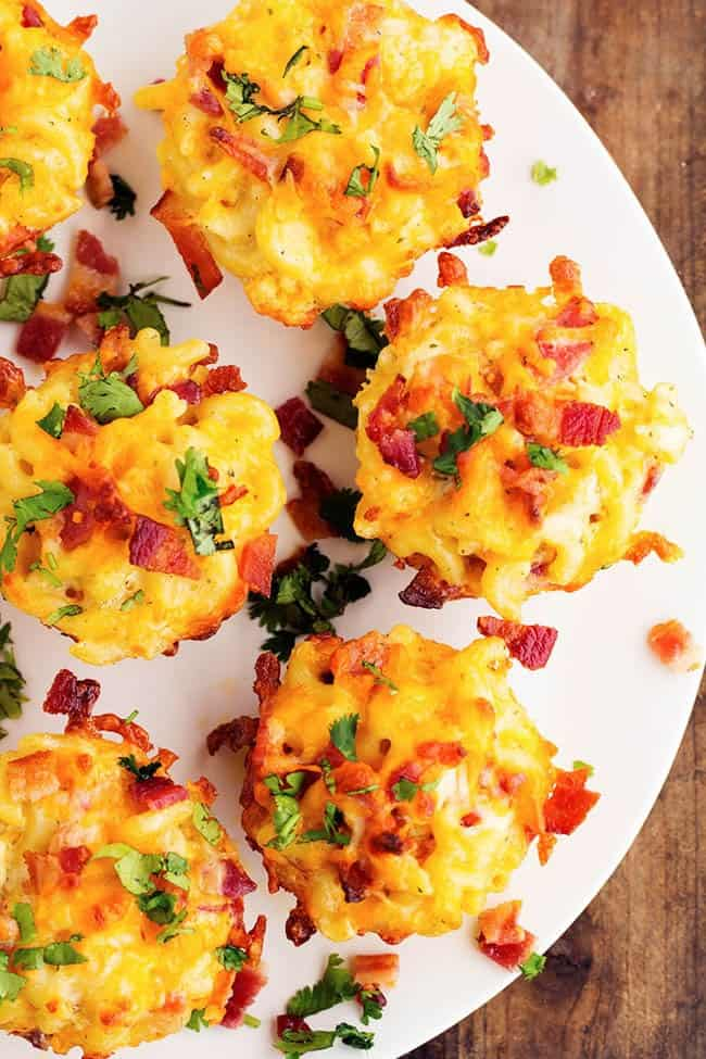 Ranch Bacon Mac And Cheese Cups The Recipe Critic