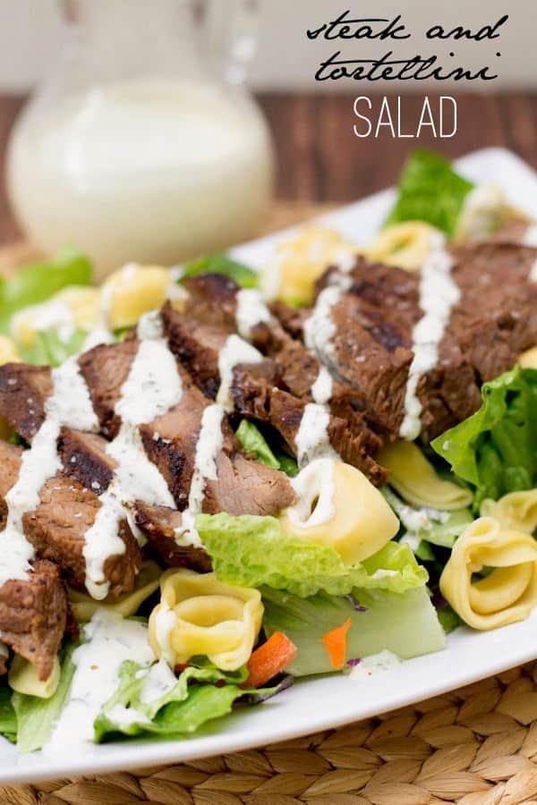 Steak and Tortellini Salad