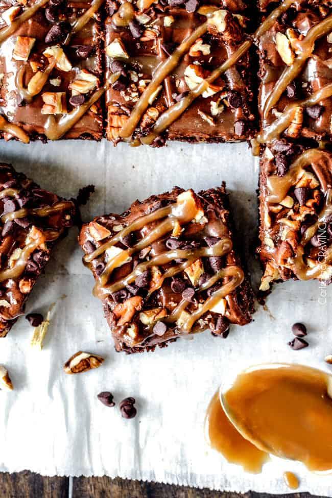 Turtle Brownies The Recipe Critic