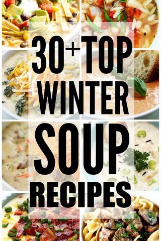 30+ Top Winter Soup Recipes