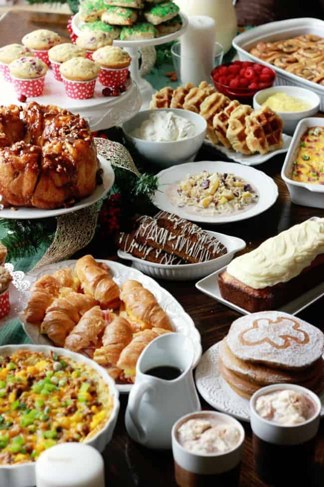 Christmas Brunch Recipe Round Up