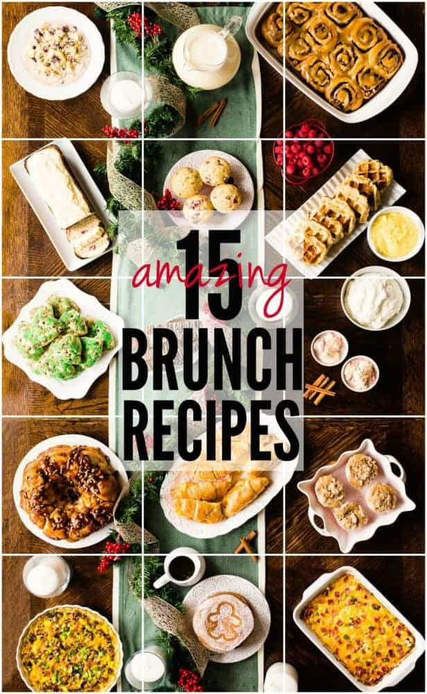 Christmas Brunch Recipes.Christmas Brunch Recipe Round Up The Recipe Critic