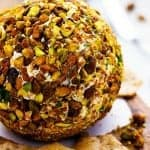 Cheddar Bacon Pistachio Cheeseball