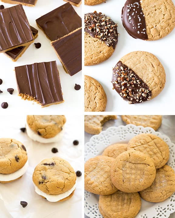 More chef savvy recipies: 1. Peanut Butter Bars 2. Chocolate Dipped Peanut Butter Cookies 3. S'mores Peanut Butter Cookies 4. Chewy Peanut Butter Cookies