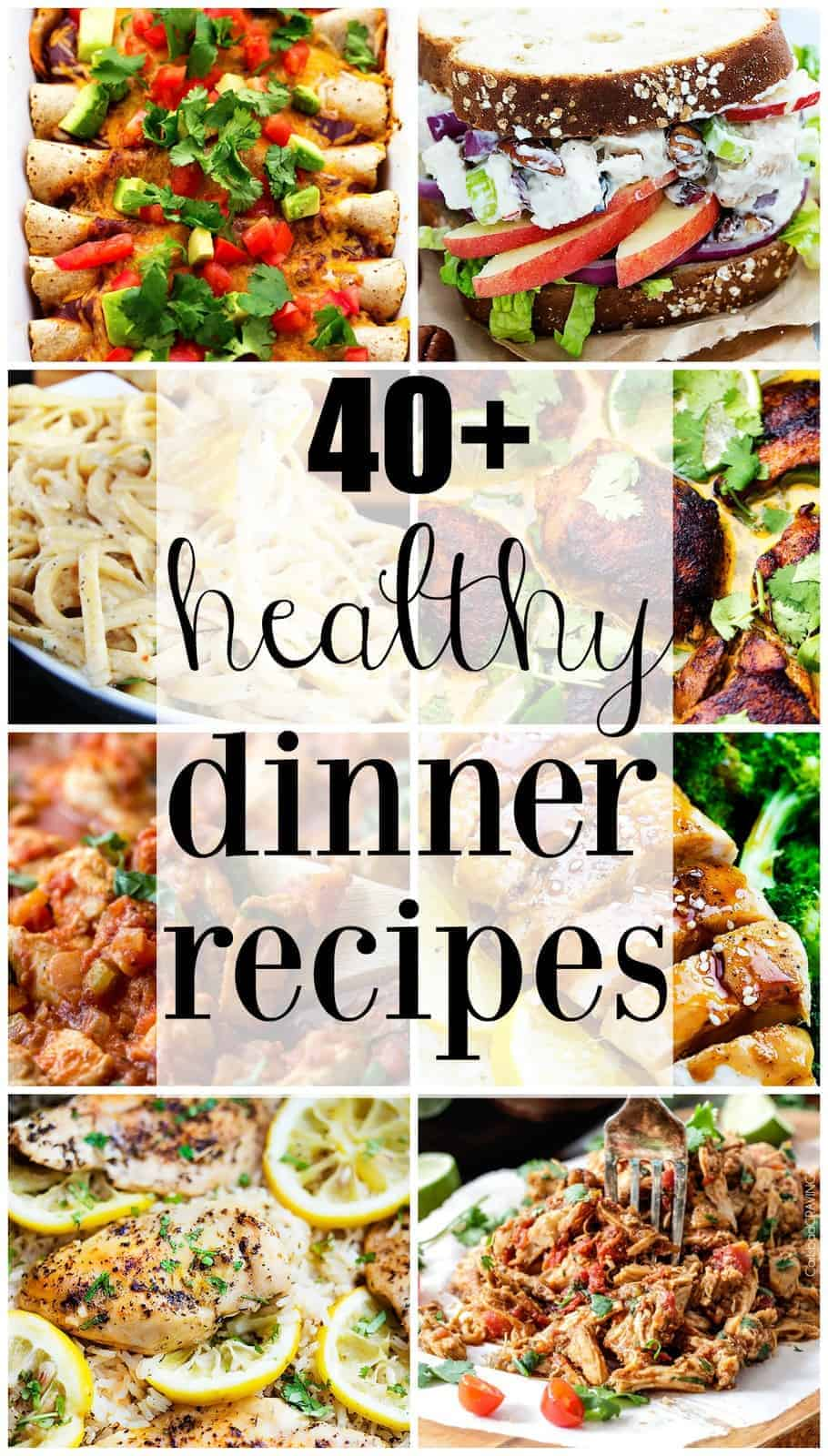 Healthy dinner recipe roundup the recipe critic collage forumfinder Gallery