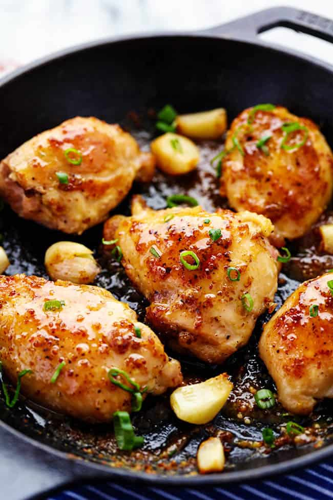 Honey Dijon Garlic Chicken The Recipe Critic