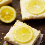 Skinny Lemon Icebox Bars